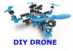 Blue Drone Quadcopter 2.4GHz Remote Control with Flexible Control Movement $56.99