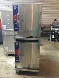 ACS Natural Gas Convection Steamer Double Stack American Cook Systems SG-6-2