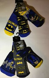 3 Pairs Boys Slipper Socks with Batman detail GBP 8.99