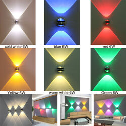 Up down wall lamp led modern indoor hotel light bedside TV background picture $23.40