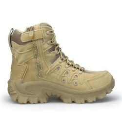 Mens High Top Military Tactical Boots Desert Army Hiking Combat Ankle Boots $49.91