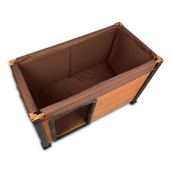 Precision Pet Outback Log Cabin Brown Canvas Dog House Insulation Kit