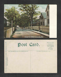 1910s COMMERCIAL STREET PROVINCETOWN MASS POSTCARD