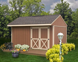 Best Barns Northwood 10 ft. W x 14 ft. D Solid Wood Storage Shed