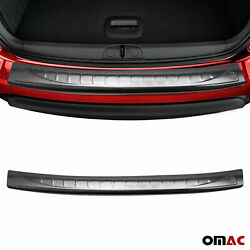 Fits Fiat 500 2007 2015 Chrome Rear Bumper Guard Trunk Sill Protector Brushed $49.90