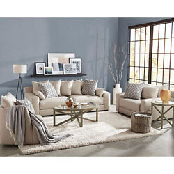 Member's Mark 3-Piece Living Room Set Gable Sofa Chair-and-a-Half wivel Chair