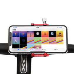 Aluminum Bicycle Phone Holder For 3.5 6.2 inch Smartphone Adjustable Support $6.96