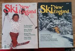 1986 amp;1987 SKI NEW ENGLAND MAGS. WINTER ED. EX MINT A LOOK AT SKIING 30YRS AGO $4.99