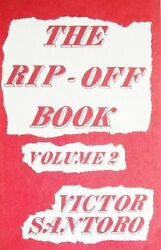 The Rip-Off Book Volume 2 $14.95