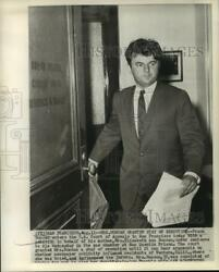 1961 Press Photo Frank Duncan Son of Murder Suspect at San Francisco Court