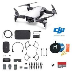 DJI Mavic Air - Arctic White Drone - Fly More COMBO Plus Starter Kit $699.00