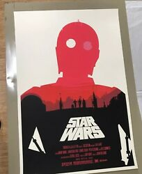 Olly Moss Star Wars Trilogy Mondo A New Hope Empire Jedi gofundme