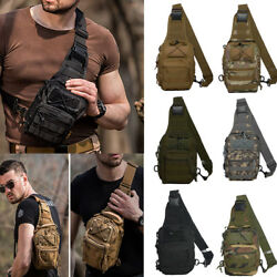 Tactical Military Sport Bag EDC Molle Pack Daypack for Camping Hiking Trekking $11.99