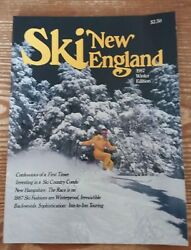 1987 SKI NEW ENGLAND MAG. WINTER ED. EX MINT A LOOK BACK INTO SKIING 30 YRS AGO $2.90