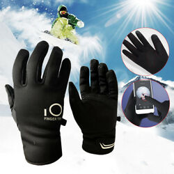 Winter Gloves Men Women Thermal Fashion Touch Screen Waterproof Outdoor Sport $9.49