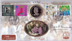 1999 Citizens - Benham Coin Off - Signed by BARONESS KENNEDY QC $19.70