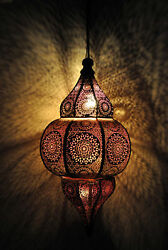 Modern Turkish Hanging Lamps Handmade Moroccan Ceiling Lights Home Lantern Gifts $104.99