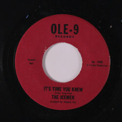 ICEMEN: It's Time You Knew  It's Gonna Take A Lot (to Bring Me Back Baby) 45 (