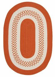 Bay Isle Home Rockport Orange IndoorOutdoor Rug