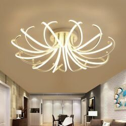 Iron Modern Lighting Chandeliers With Remote Control Home Ceiling Fixture Decors $572.38