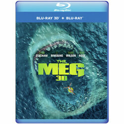 The Meg New Blu ray 3D With Blu Ray 3D $21.24