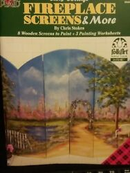 Fireplace Screens & More Chris Stokes 1999 Decorative Painting 9484