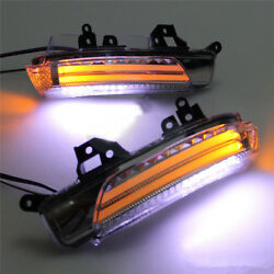 L&R LED Rearview Mirror Llight Turn Signal Lamp For Toyota REIZMARK X 2010-