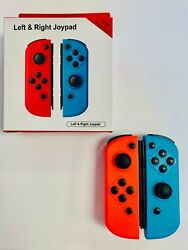 Replacement Neon Red(L)&Blue(R) Joy-Con Wireless Controllers for Nintendo Switch