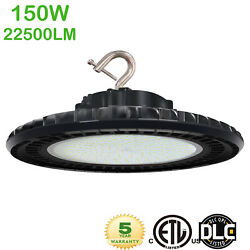 150W LED UFO High Bay Light Dimmable Warehouse Shop Gym Commercial Lighting IP65