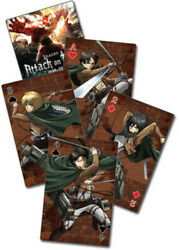 Attack On Titan S2 - Group Playing Cards Video Game