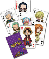 One Piece - Group Playing Cards Games (Misc)