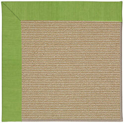 Longshore Tides Lisle Machine Tufted Grass and Beige IndoorOutdoor Area Rug