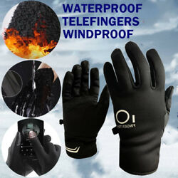 Winter Work Gloves Men Women Insulated Thermal Lined Outdoor Ski Water Resistant $9.19