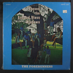 FORERUNNERS: Beyond The Stained Glass Windows LP Hear! (shrink light corner be