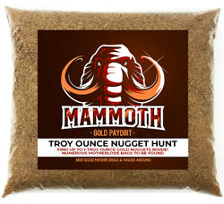 MAMMOTH NUGGET OUNCE HUNT Gold Paydirt Concentrate Chase For Troy Oz Nugget $59.99