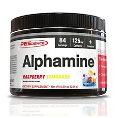PES - ALPHAMINE 84serving- POWERFUL THERMOGENIC POWDER - Appletini Fruit Punch