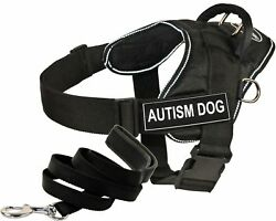 Dean  Tyler DT Fun Works Harness 6-Feet Padded Puppy Leash Autism Dog X-Large