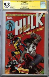 Hulk #1 CGC 9.8 NMMT Signed STAN LEE Hall of Comics X-23 vs SHE-HULK McGuinness