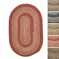 Weston IndoorOutdoor Braided Reversible Rug USA MADE - 9' x 12'