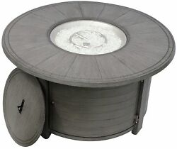 AZ Patio Heaters Aluminum Propane Gas Fire Pit Table PZA10005