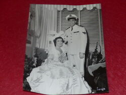 FUNDS GERMAINE ROGER VINTAGE PHOTO KNIGHT OF THE CIEL LUIS MARIANO 1955