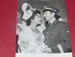 FUND GERMAINE ROGER VINTAGE PHOTO CHEVALIER DU CIEL LUIS MARIANO L. DOLENE 1955