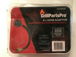 GRILL PARTS PRO 4-Ft Extension Propane Tank Adapter Hose