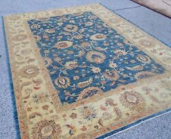 BELOW COST PERSIAN DESIGN ORIENTAL RUG HAND WOVEN 8 x 11 INDIAN HILLOH ESTATE
