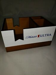 Michelob Ultra Wooden Bar Caddy *2 for the price of 1*