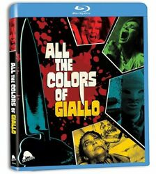 All The Colors Of Giallo New Blu ray With CD With DVD 3 Pack $23.74