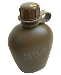 Halo Reach Very Rare promo Official Bottle FLASK Canteen with logo NEW $24.99