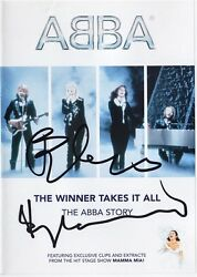 ABBA Story BENNY ANDERSSON & BJORN ULVAEUS Mamma Mia Eurovision Autograph SIGNED