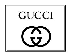 GUCCI 37x29 Extra Large Wall Art Decor Print on Canvas $299.00