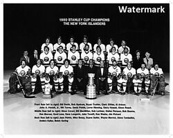 79 - 80 New York Islanders Stanley Cup Champions 1st Cup 8 X 10 Photo Free Ship